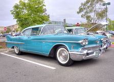 1950's Cadillac. At a classic car show Stock Image
