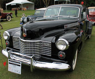 1940s cadillac fleetwood at show Royalty Free Stock Image