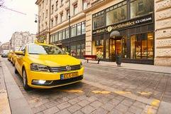 ` S Caffe Molnar в городе Будапеште Стоковое Фото