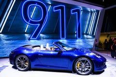 4s 911 carrera堡侍捷 库存照片