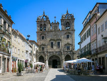 Sé Cathedral in Braga Stock Photography