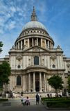 ` S Cathedrale di St Paul a Londra Immagini Stock Libere da Diritti
