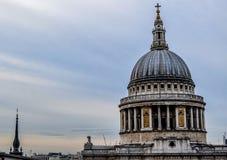 ` S Catherdal de St Paul, Londres Foto de Stock