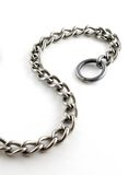 S Chain. Chain shaped as an S over white Royalty Free Stock Image