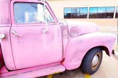 50`s chevy truck pink memorabilia Stock Image