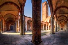 S Chiesa 2, Milano di Ambrogio Fotografia Stock