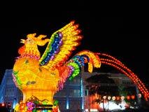 ` S Chinatown - año de Singapur del gallo Foto de archivo libre de regalías