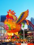 ` S Chinatown - año de Singapur del gallo Fotos de archivo