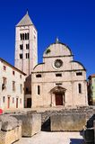 ` S Chuch de St Mary, Zadar Fotos de Stock