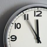 ` s cinque minuti a dodici Immagini Stock