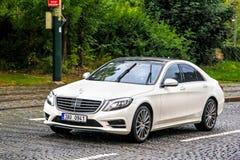 S-clase de Mercedes-Benz W222 Imagen de archivo libre de regalías