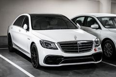 S-classe de Mercedes-Benz W222 foto de stock royalty free