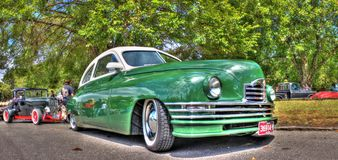 1940s classic American car Royalty Free Stock Image