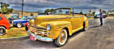 1940s classic American Ford Royalty Free Stock Image