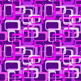 70`s Classic Retro Style Pattern Background Seamless. Concept for a Classic Era Design Style of the 70s Stock Photo