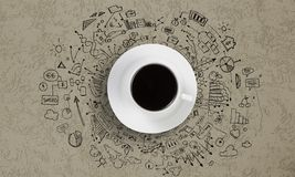 It's coffee time Stock Image