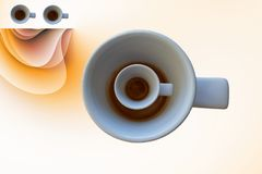 It`s coffee time Royalty Free Stock Photography