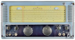1950's communications receiver Stock Photos