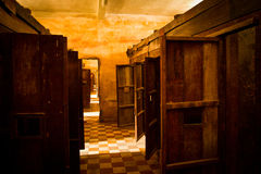 The S21 concentration camp in Phnom Phen, Cambodia Royalty Free Stock Photo