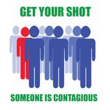 It`s contagious Stock Photography