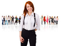It's so cool to be a corporate slave Royalty Free Stock Photo