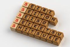 5S crosswords łamigłówka Zdjęcie Stock