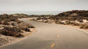 S-Curve путя велосипеда Стоковые Изображения