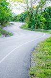 S curve way. Royalty Free Stock Images