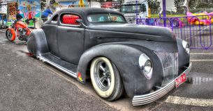 1930s Custom designed American Ford Coupe Royalty Free Stock Photos