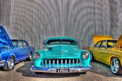 1950s Custom Ford Mercury Royalty Free Stock Photo