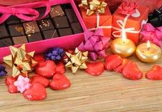 s czekoladowy valentine Fotografia Royalty Free