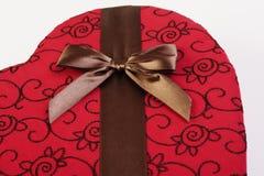 s czekoladowy valentine Obraz Royalty Free