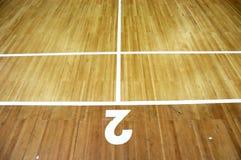 sąd badminton Obraz Stock