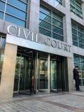 Sąd Cywilny Fotografia Stock