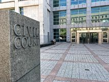 Sąd Cywilny Zdjęcie Stock