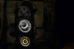 ` S d'horloge de Nighly Photo libre de droits