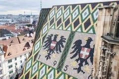 s dach katedry św Stephen Zdjęcia Royalty Free