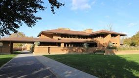 ` S Darwin Martin House, búfalo, Nueva York 4K de Frank Lloyd Wright almacen de metraje de vídeo