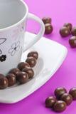 `S de la bola del chocolate Imágenes de archivo libres de regalías