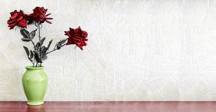 ` S de la flor de la rosa del rojo del morte de la naturaleza imagen de archivo