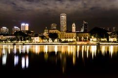 ` S de la reflexión de Singapur Foto de archivo libre de regalías