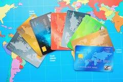 S de la tarjeta de crédito imagenes de archivo