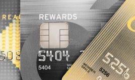 S de la tarjeta de crédito Foto de archivo