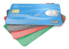 S de la tarjeta de crédito Fotografía de archivo