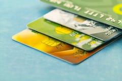 S de la tarjeta de crédito foto de archivo libre de regalías