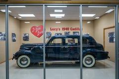` S de Lucile Ball Cadical 1940 en la exhibición dentro de la tienda de regalo más grande de los mundos de Missouri los E.E.U.U. imágenes de archivo libres de regalías