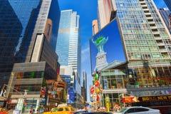 ` S de M&M de magasin de bonbons à New York près de Times Square Image stock