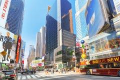 ` S de M&M de magasin de bonbons à New York près de Times Square Photos libres de droits