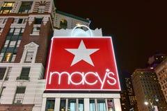 ` S de Macy - New York City Imagens de Stock