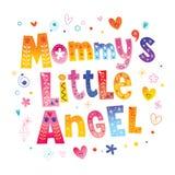 ` S de maman peu d'ange illustration libre de droits